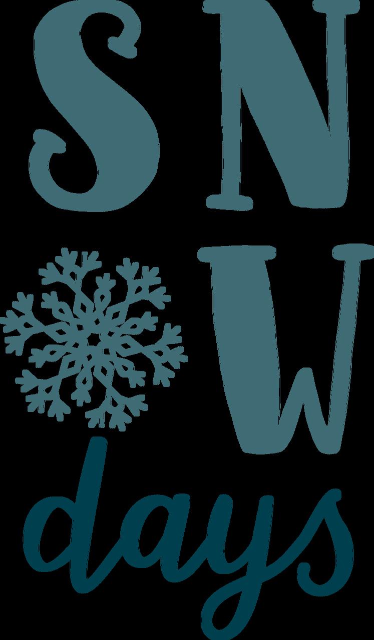 Snow Days SVG Cut File