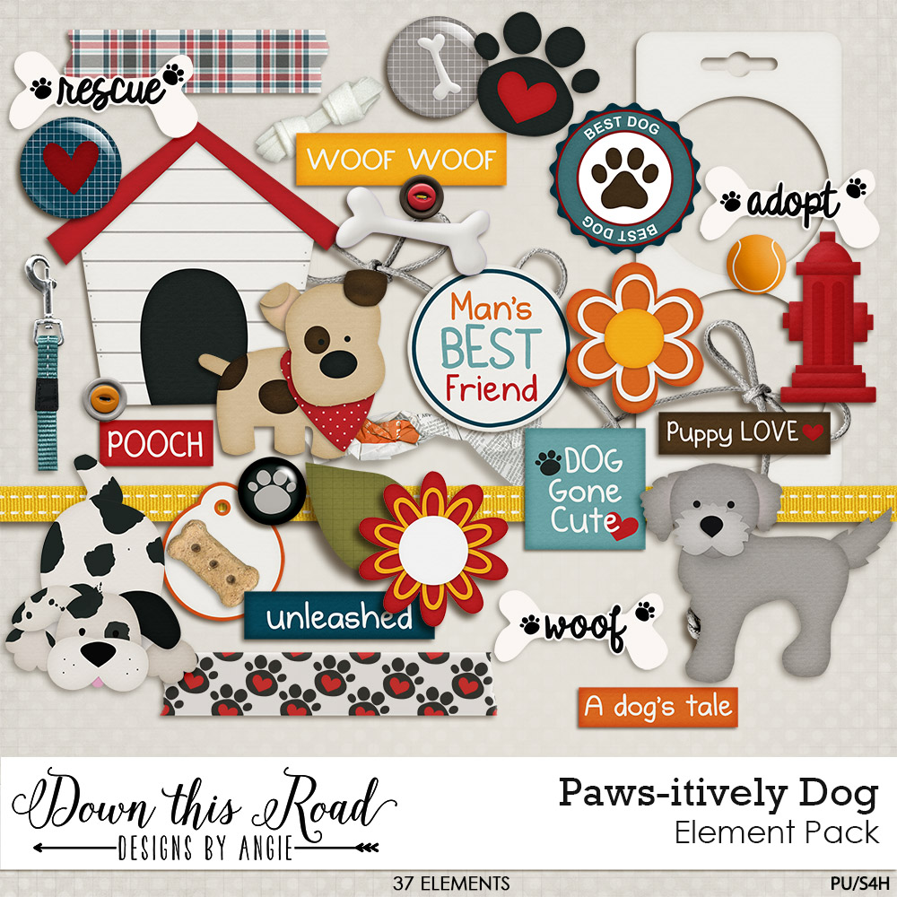 Paws-itively Dog Collection