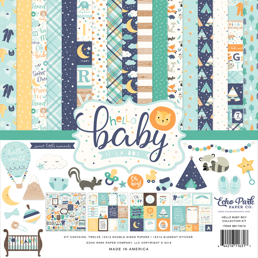 Hello Baby Boy Collection Kit