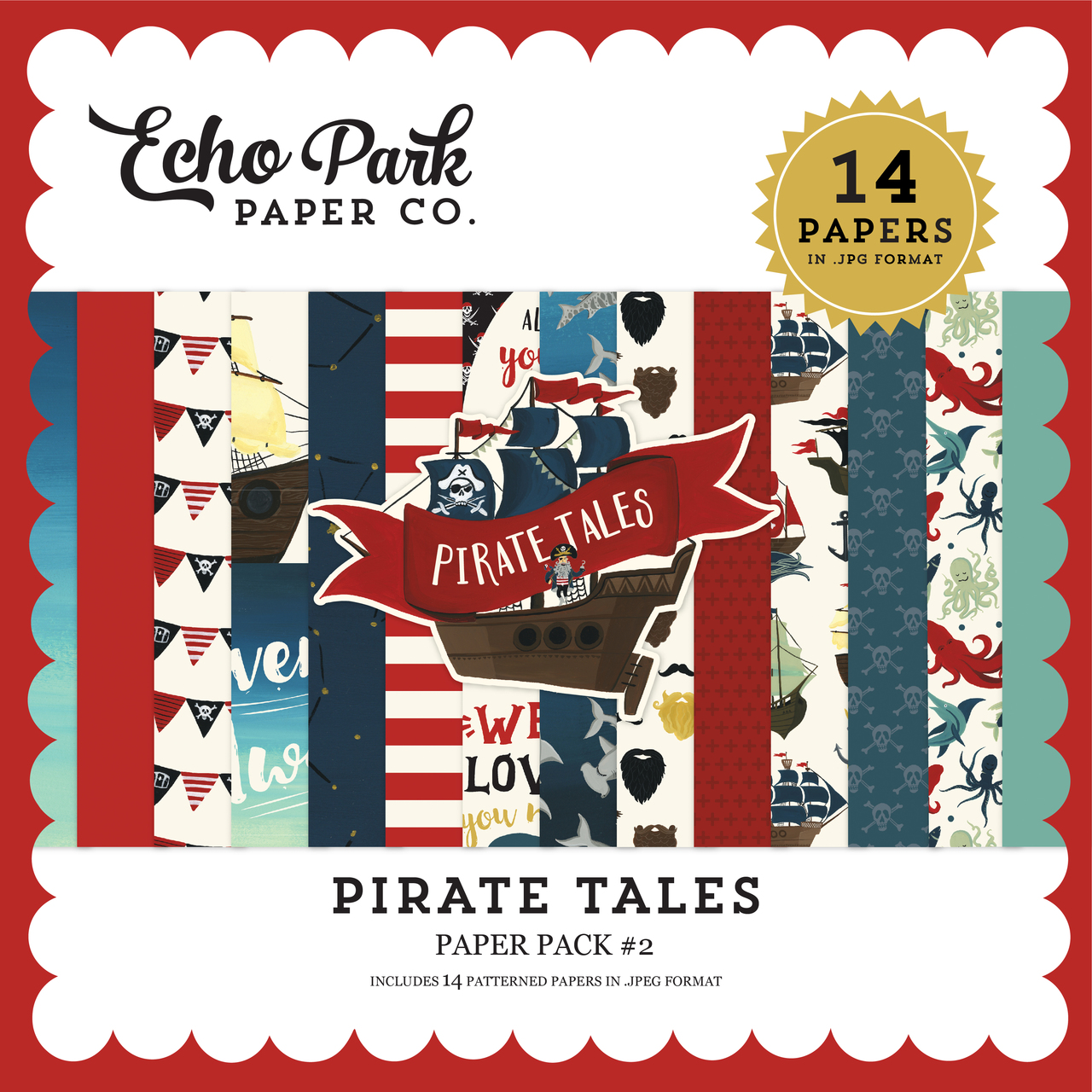 Pirate Tales Paper Pack #2