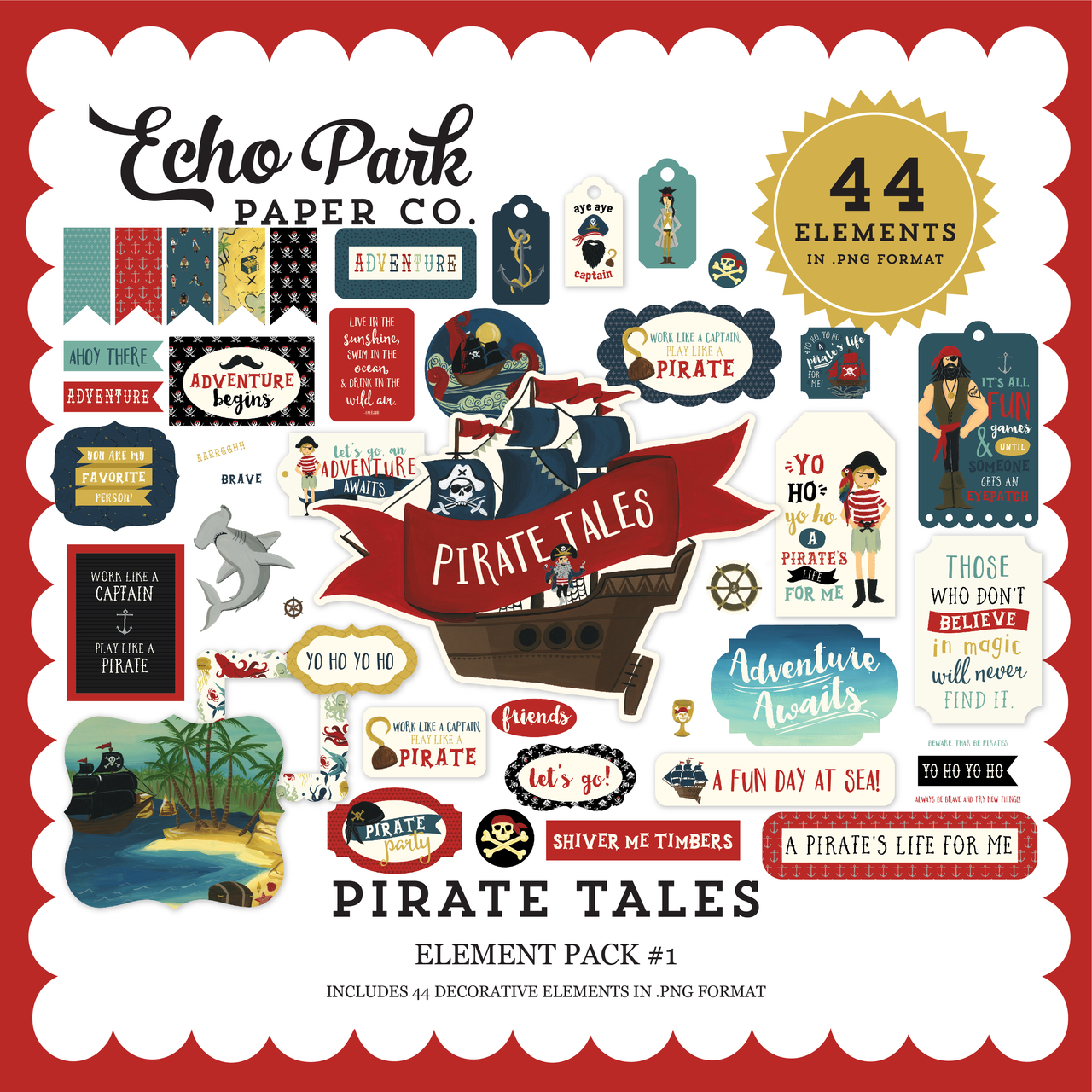 Pirate Tales Element Pack #1