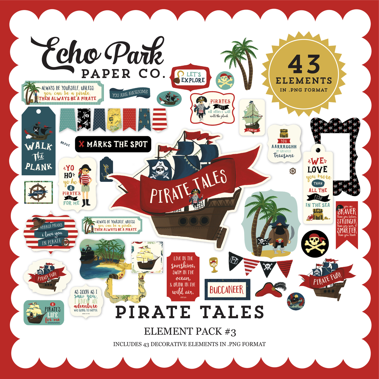 Pirate Tales Element Pack #3