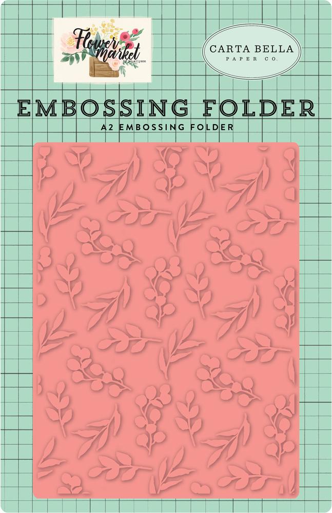 Bloom & Grow Embossing Folder