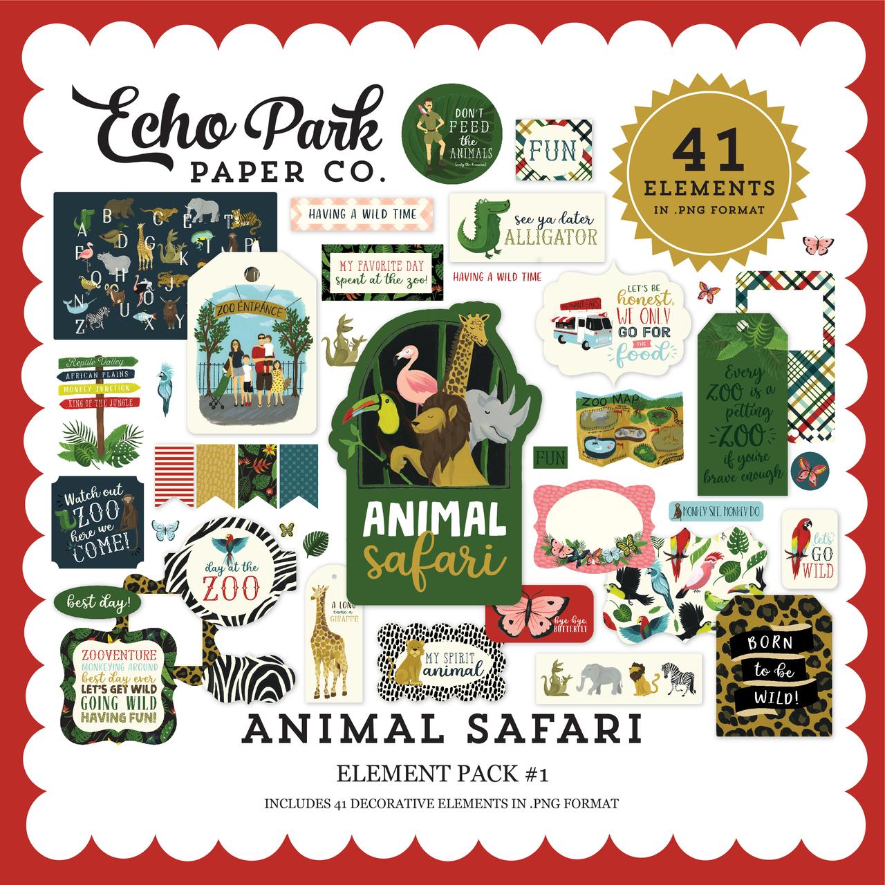 Animal Safari Element Pack #1