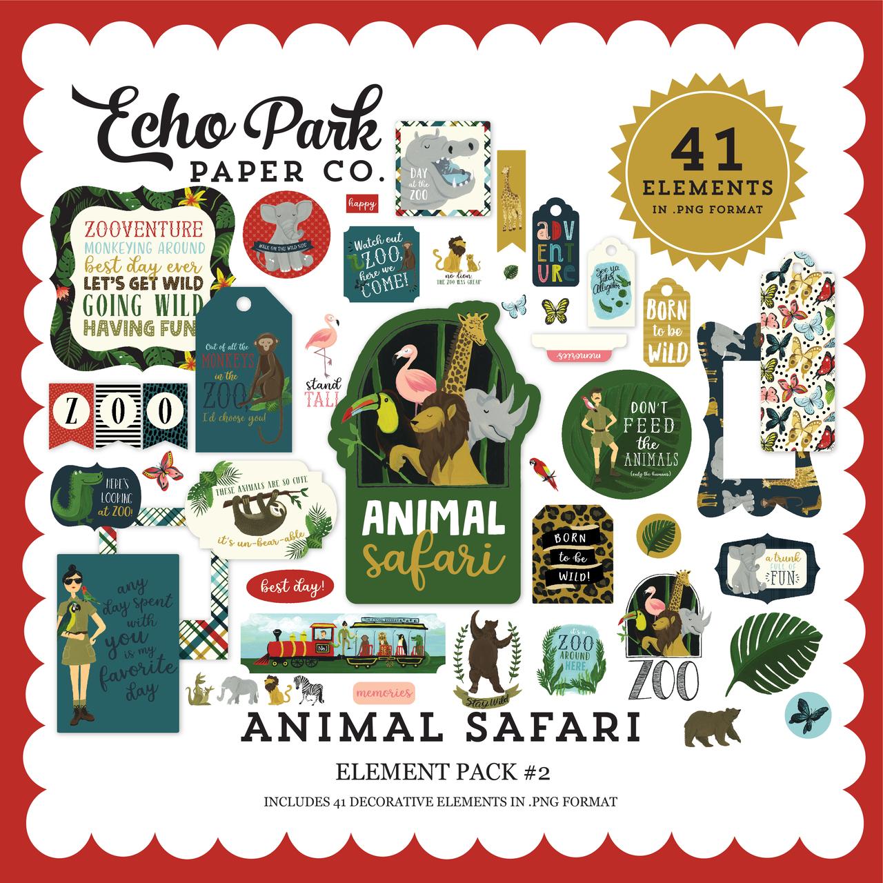 Animal Safari Element Pack #2