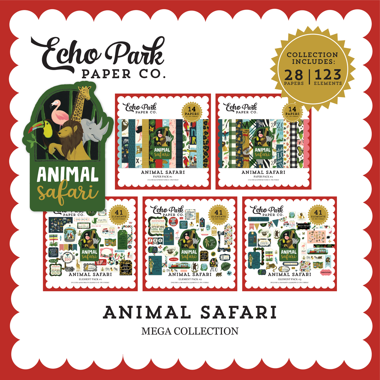 Animal Safari Mega Collection