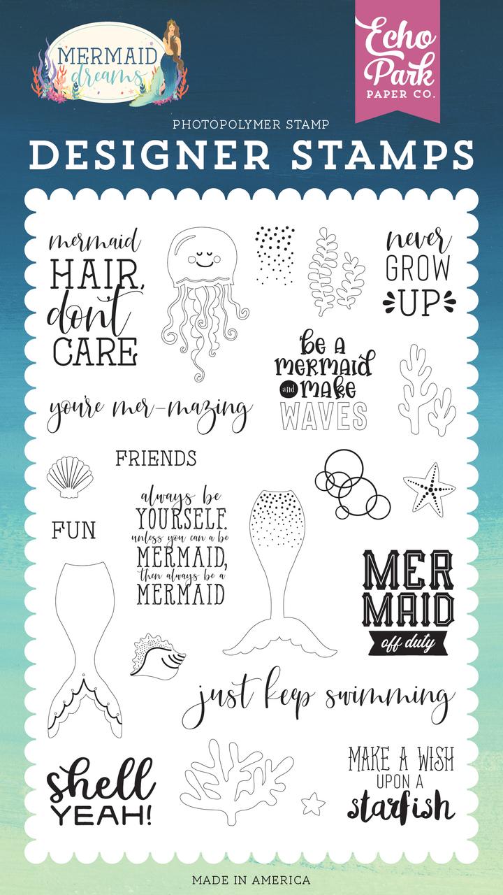 Be A Mermaid Stamp Set