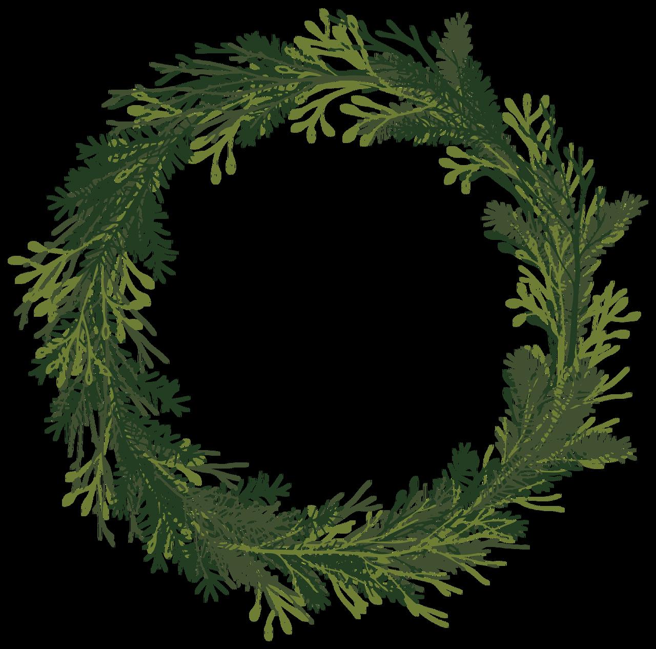 Let It Snow Wreath Print & Cut File