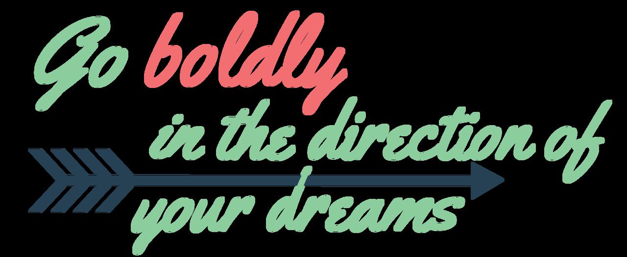 Go Boldly SVG Cut File
