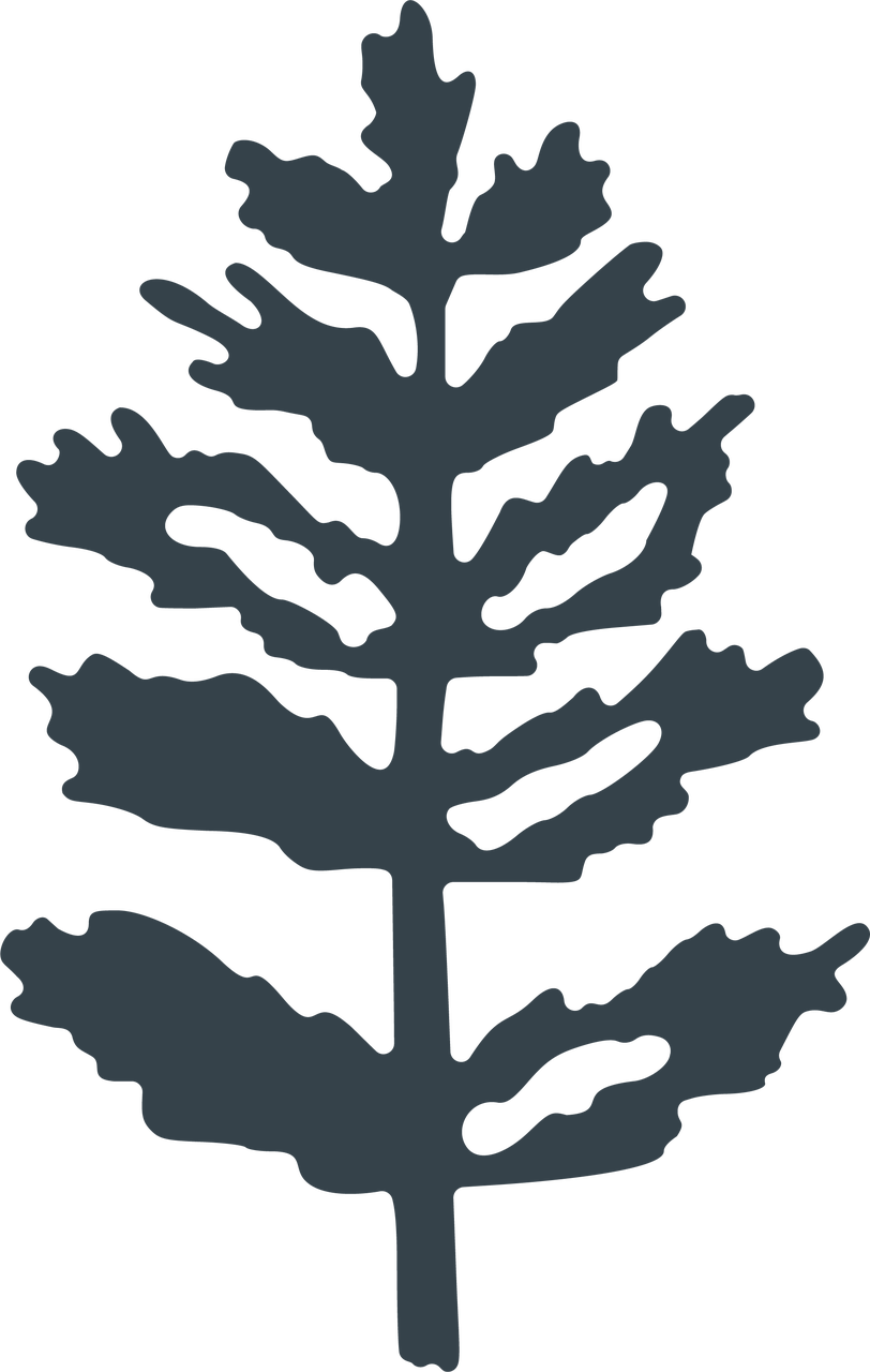 Let It Snow Pine Tree SVG Cut File