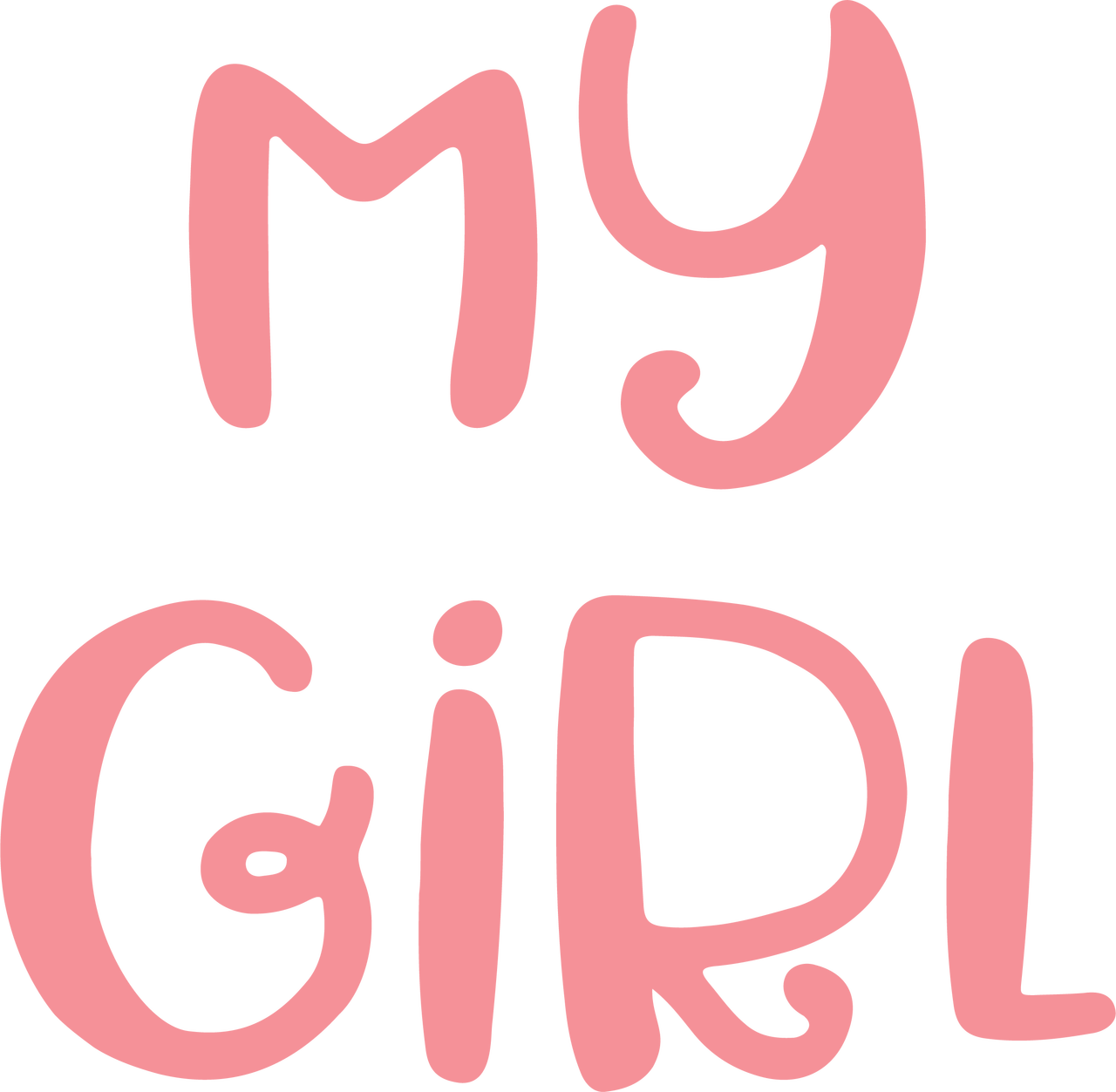 My Girl SVG Cut File