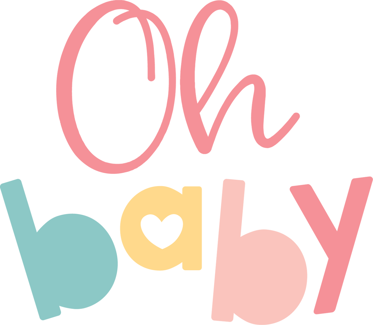 Oh Baby SVG Cut File