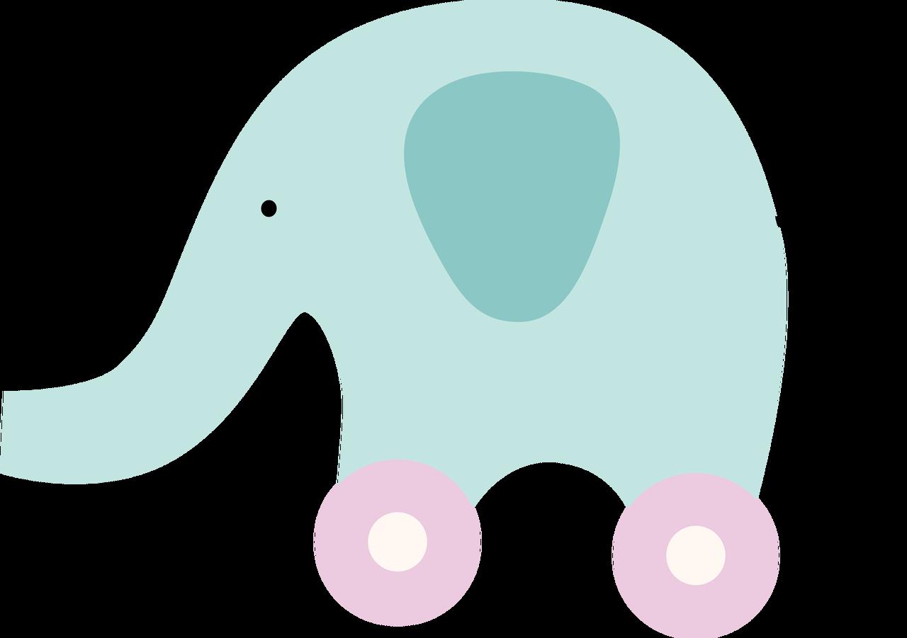 Elephant Toy SVG Cut File