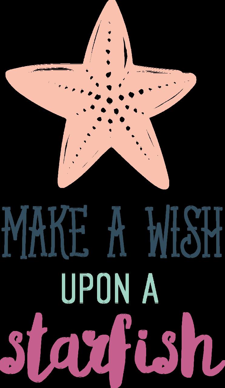 Make A Wish Upon A Starfish SVG Cut File