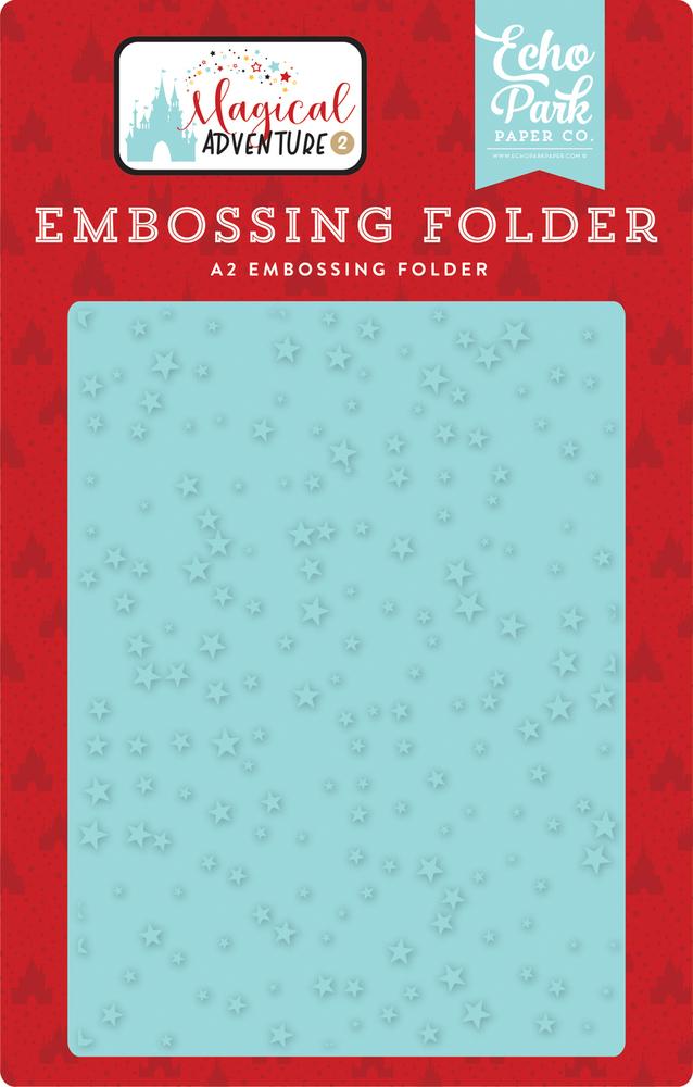 Make a Wish Embossing Folder