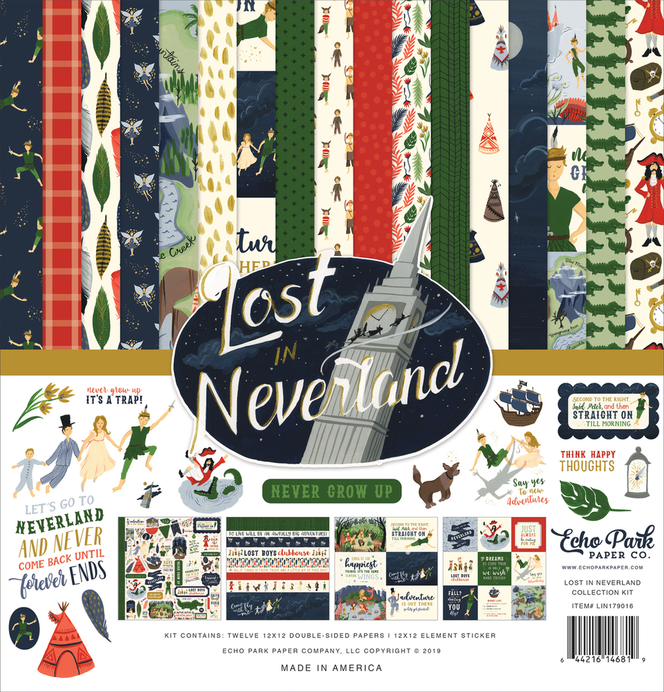 Lost In Neverland Collection Kit