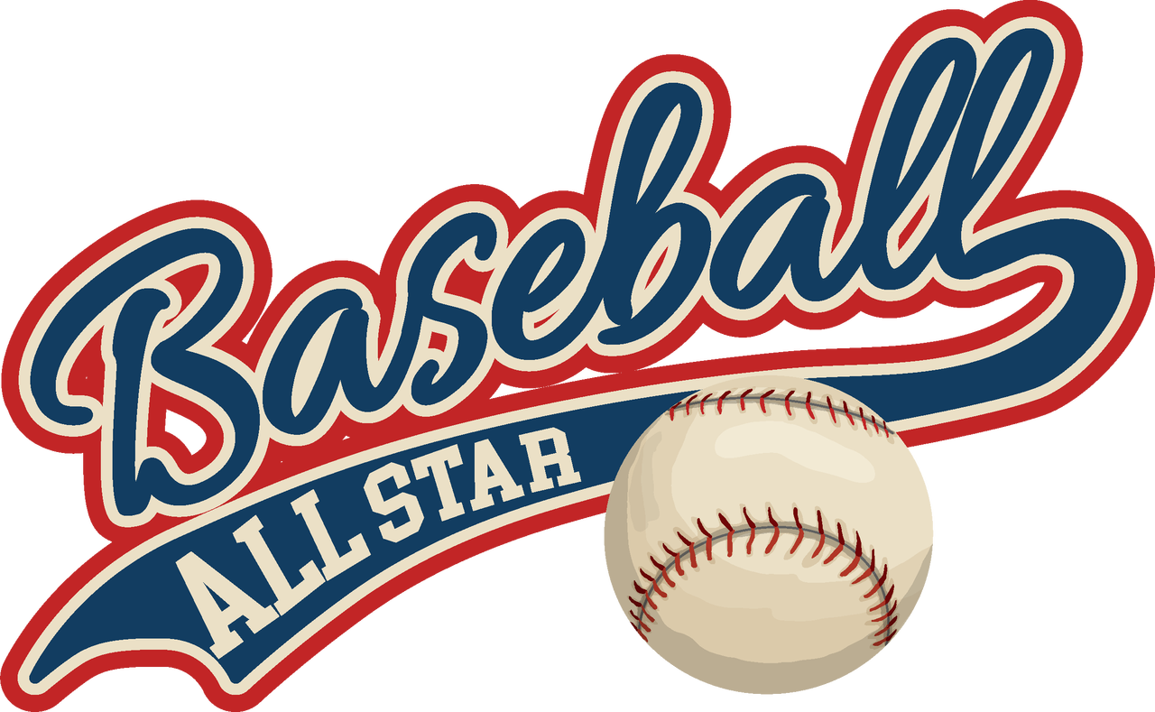 Baseball All Star Print & Cut File