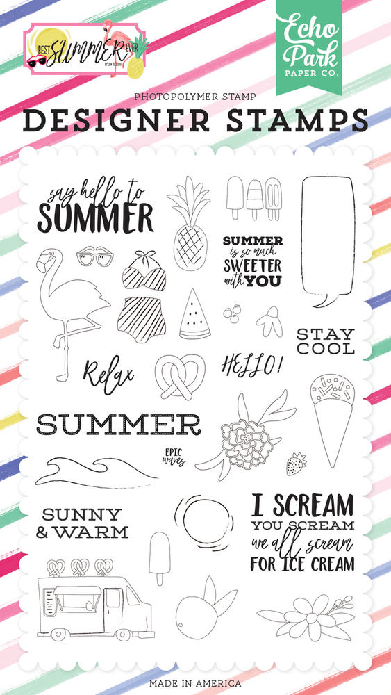 Say Hello To Summer Stamp Set
