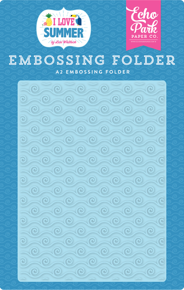 Ride the Waves Embossing Folder