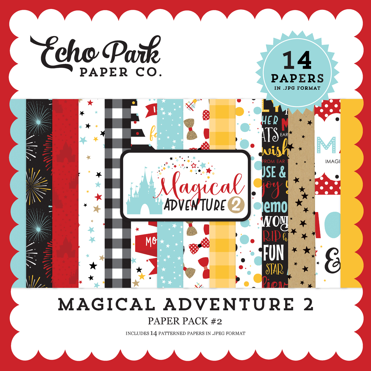 Magical Adventure 2 Paper Pack #2