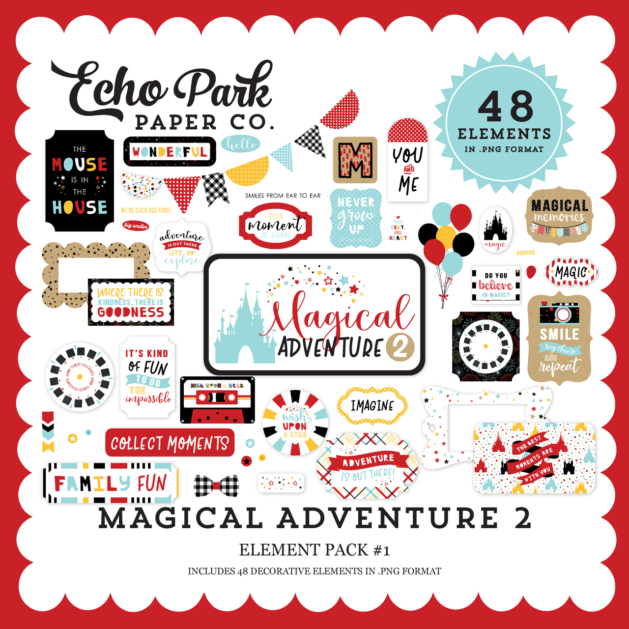 Magical Adventure 2 Element Pack #1