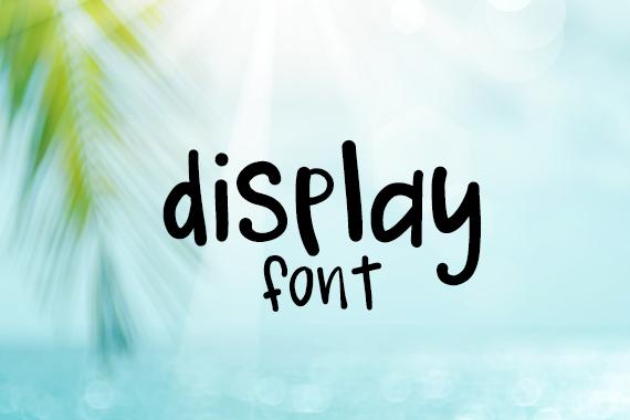 CG Display Font