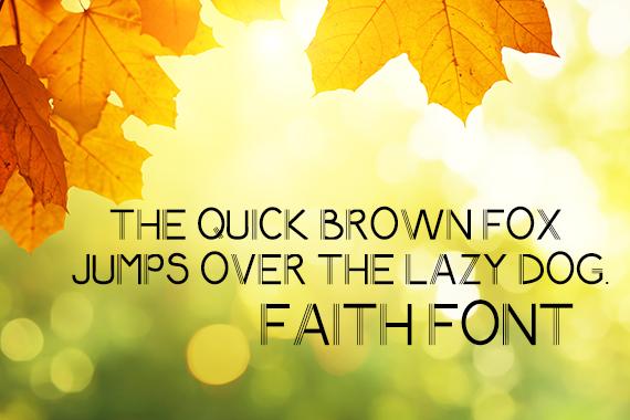 CG Faith Font