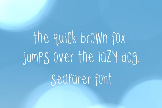 CG Seafarer Font