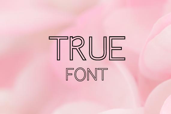 CG True Font