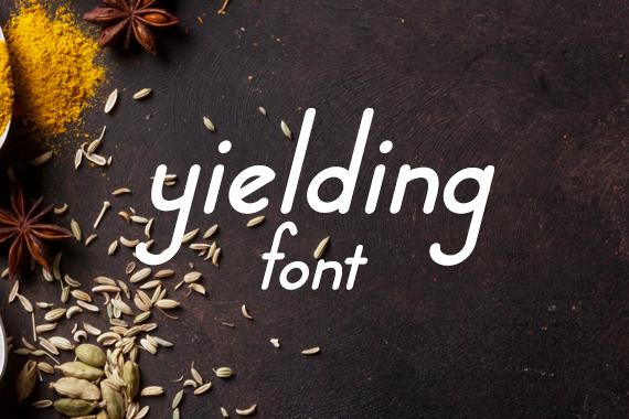 CG Yielding Font