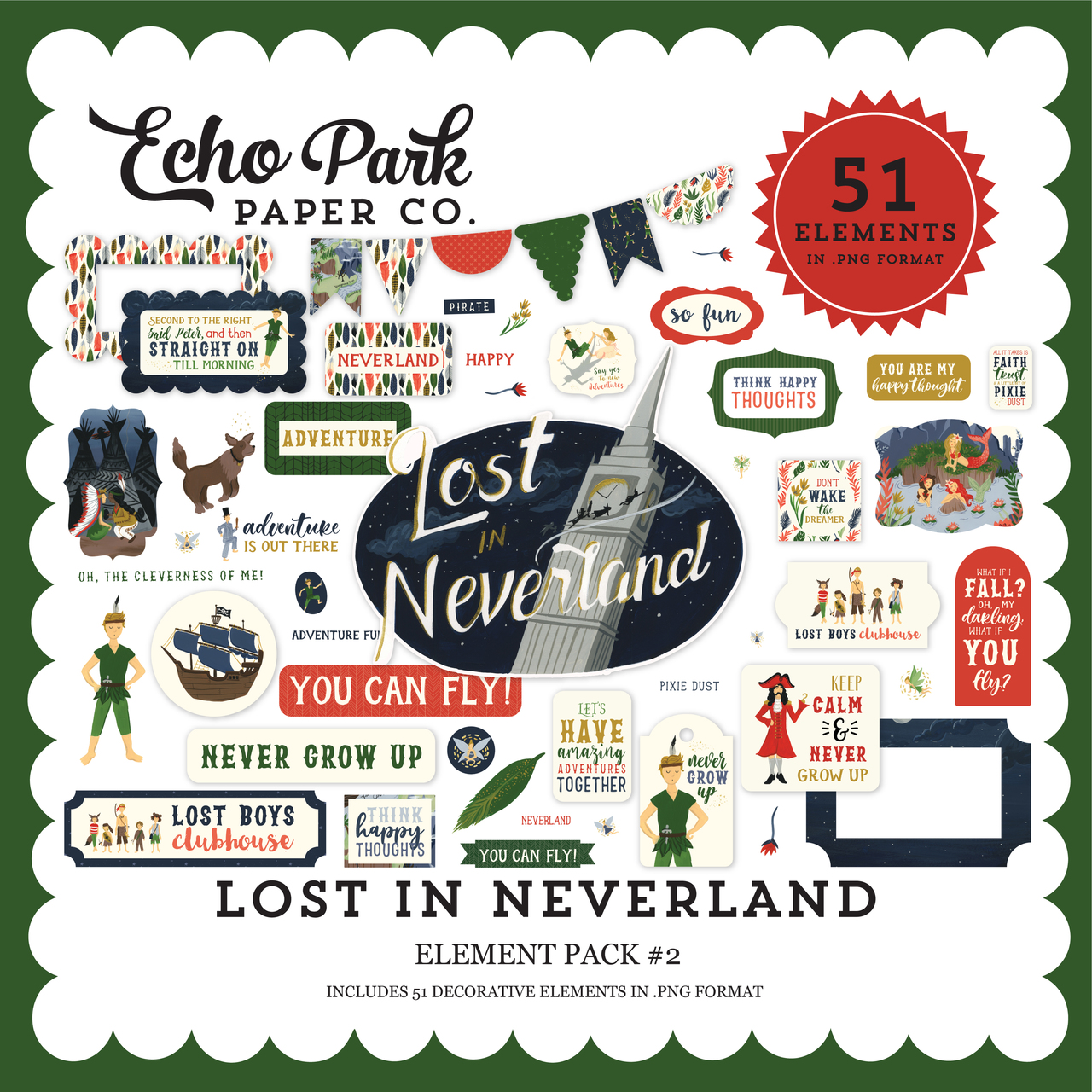 Lost In Neverland Element Pack #2