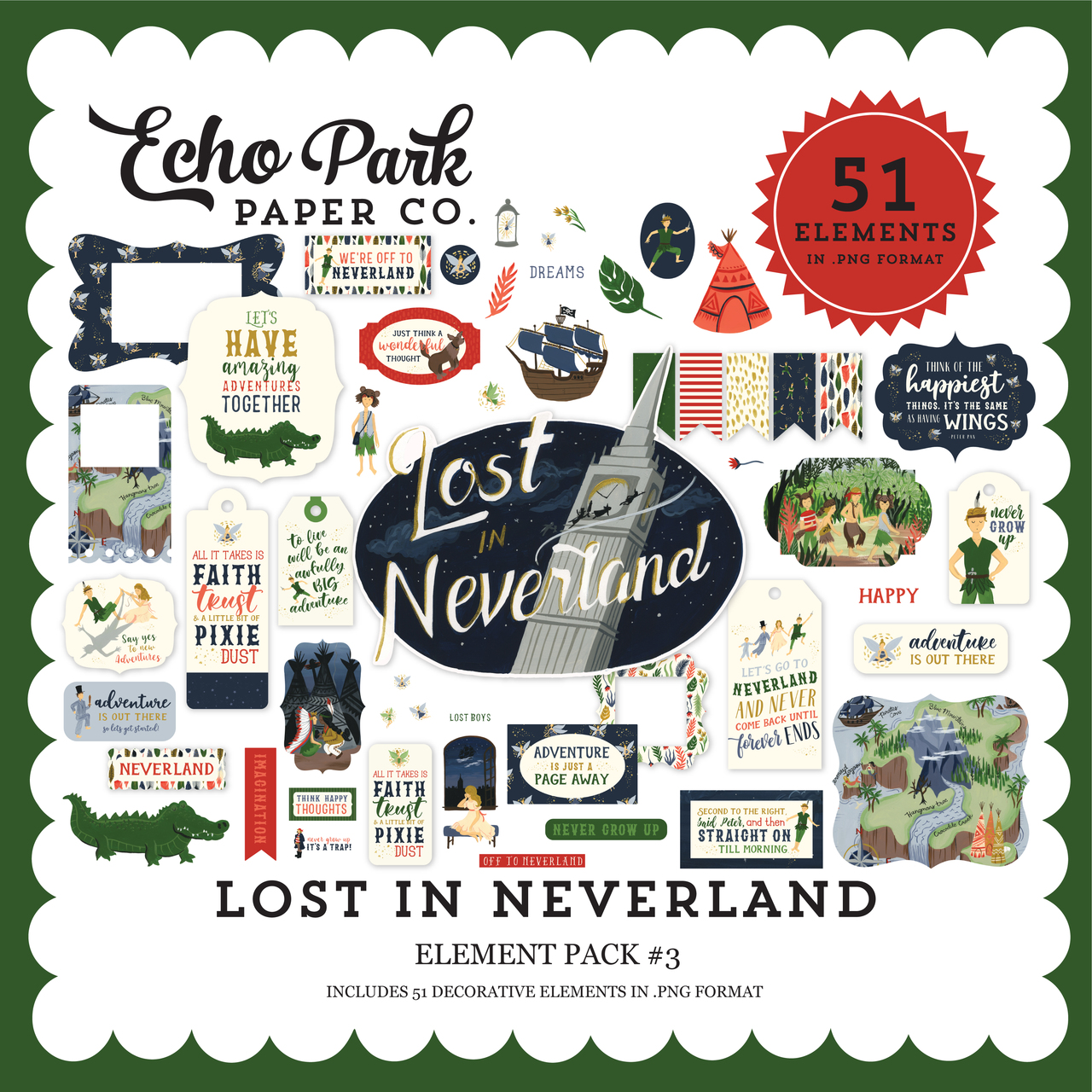 Lost In Neverland Element Pack #3
