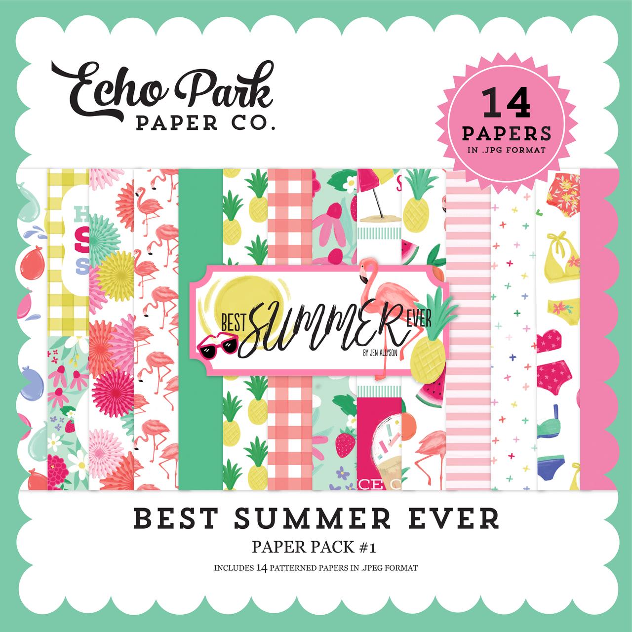 Best Summer Ever Paper Pack #1