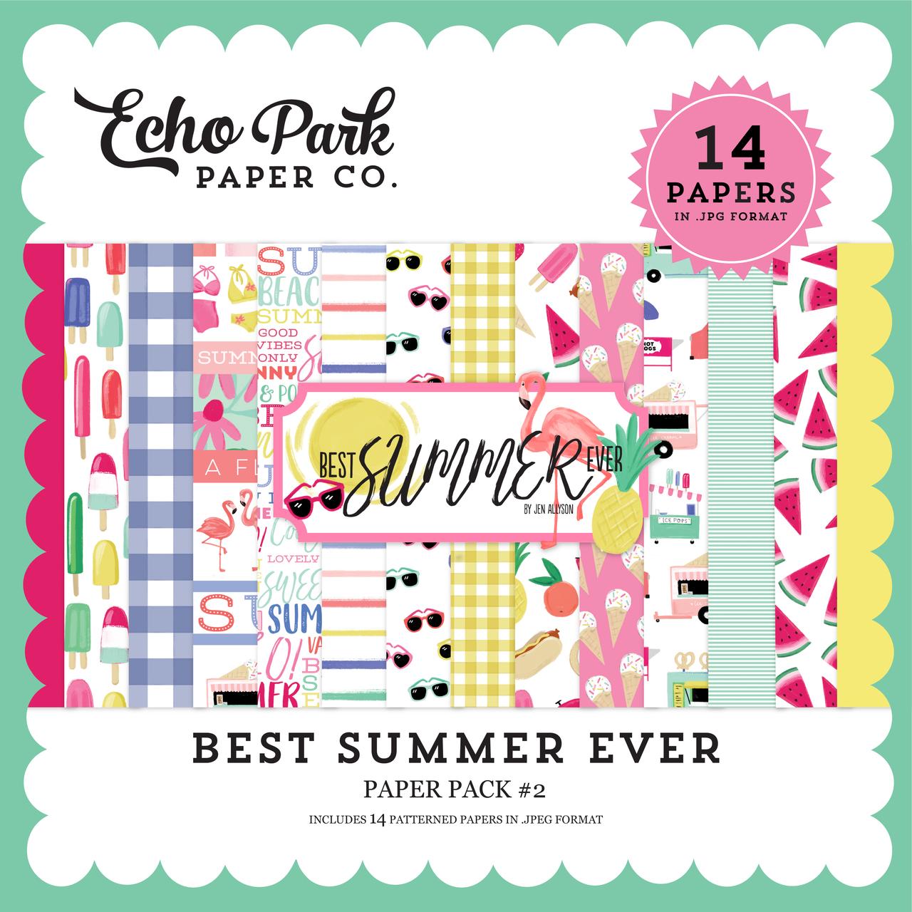 Best Summer Ever Paper Pack #2