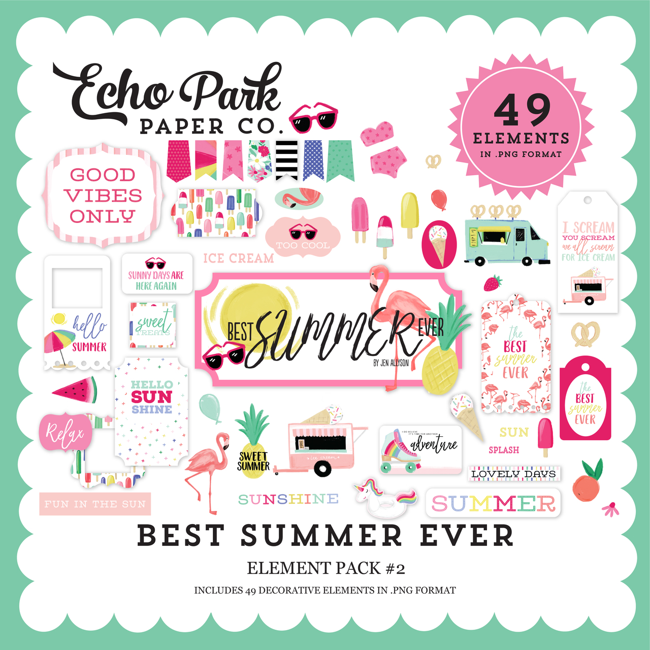 Best Summer Ever Element Pack #2