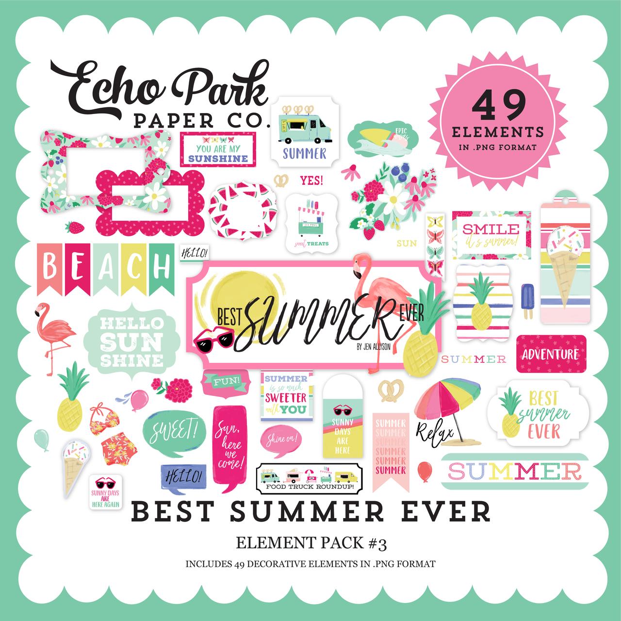 Best Summer Ever Element Pack #3