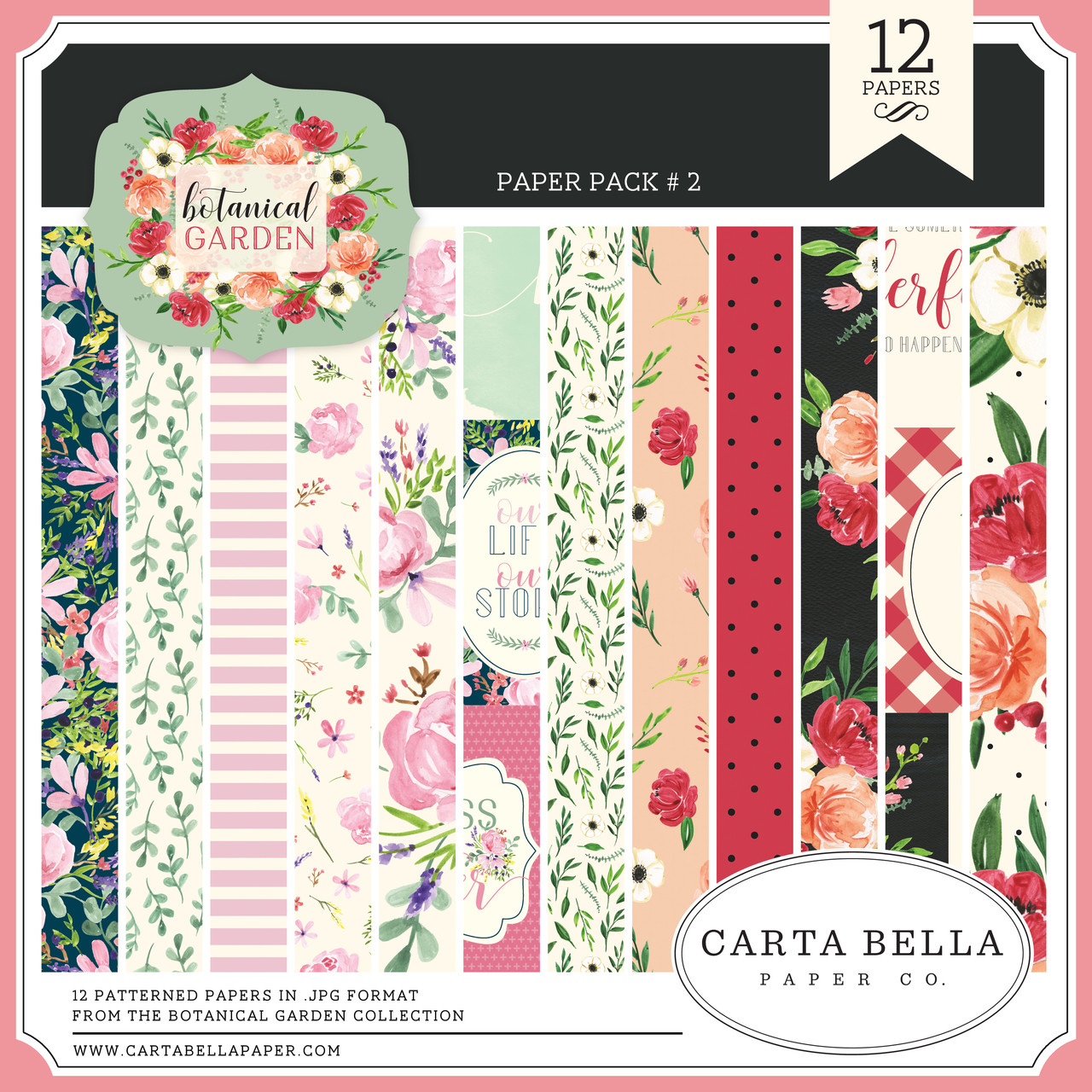 Botanical Garden Paper Pack #2