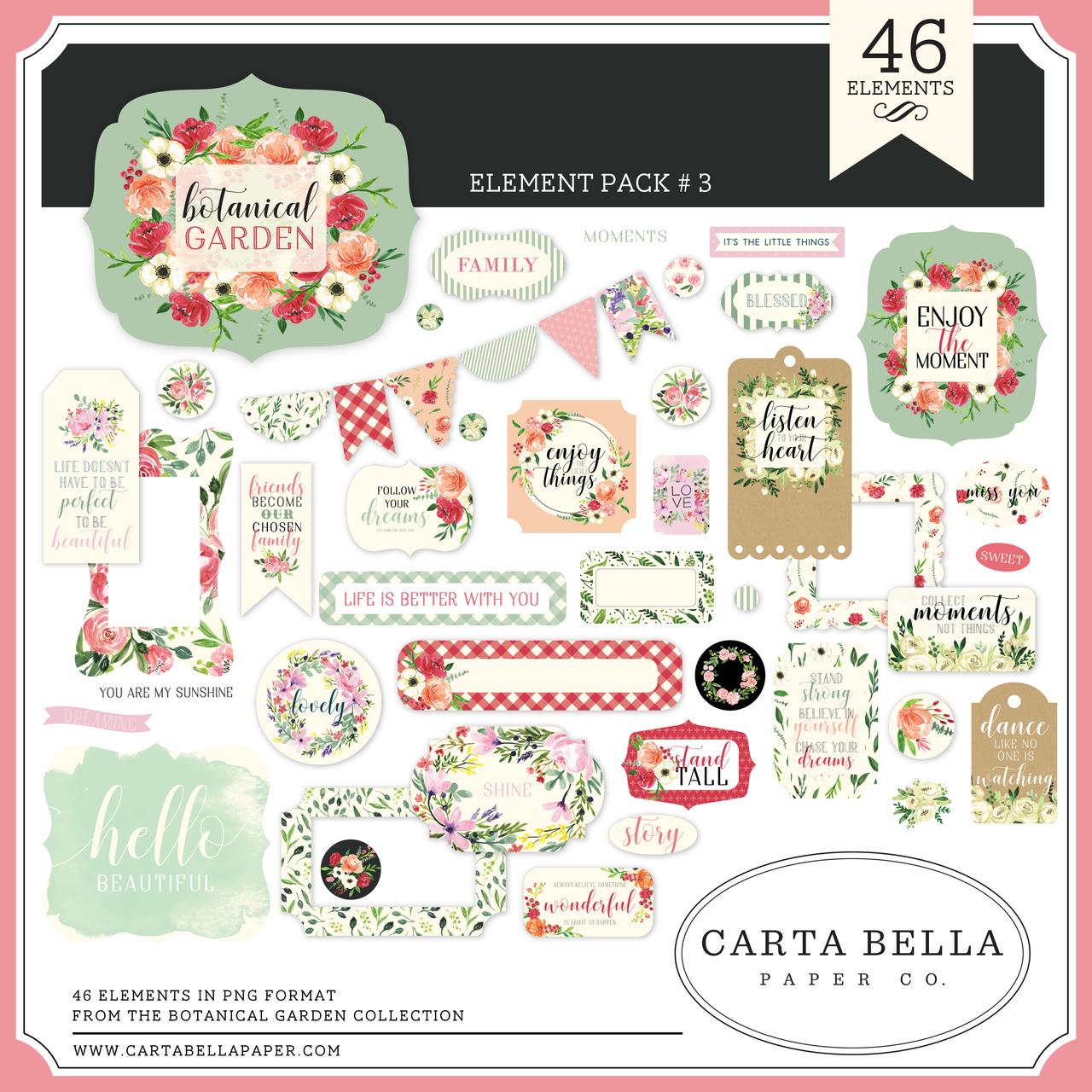 Botanical Garden Element Pack #3