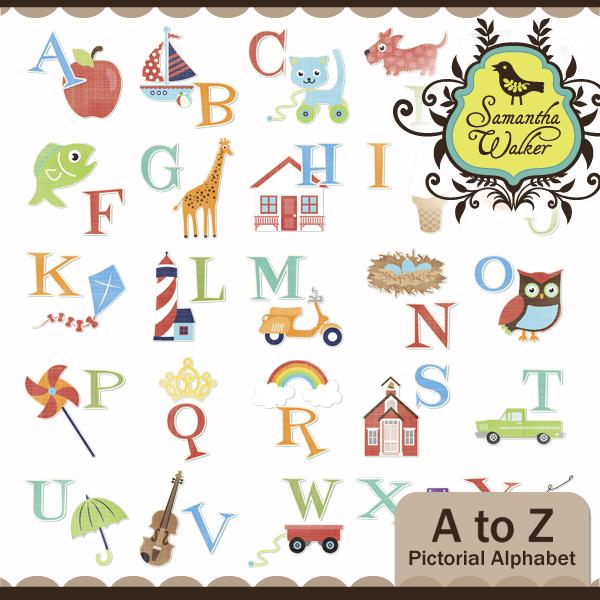 Alphabet Design A To Z