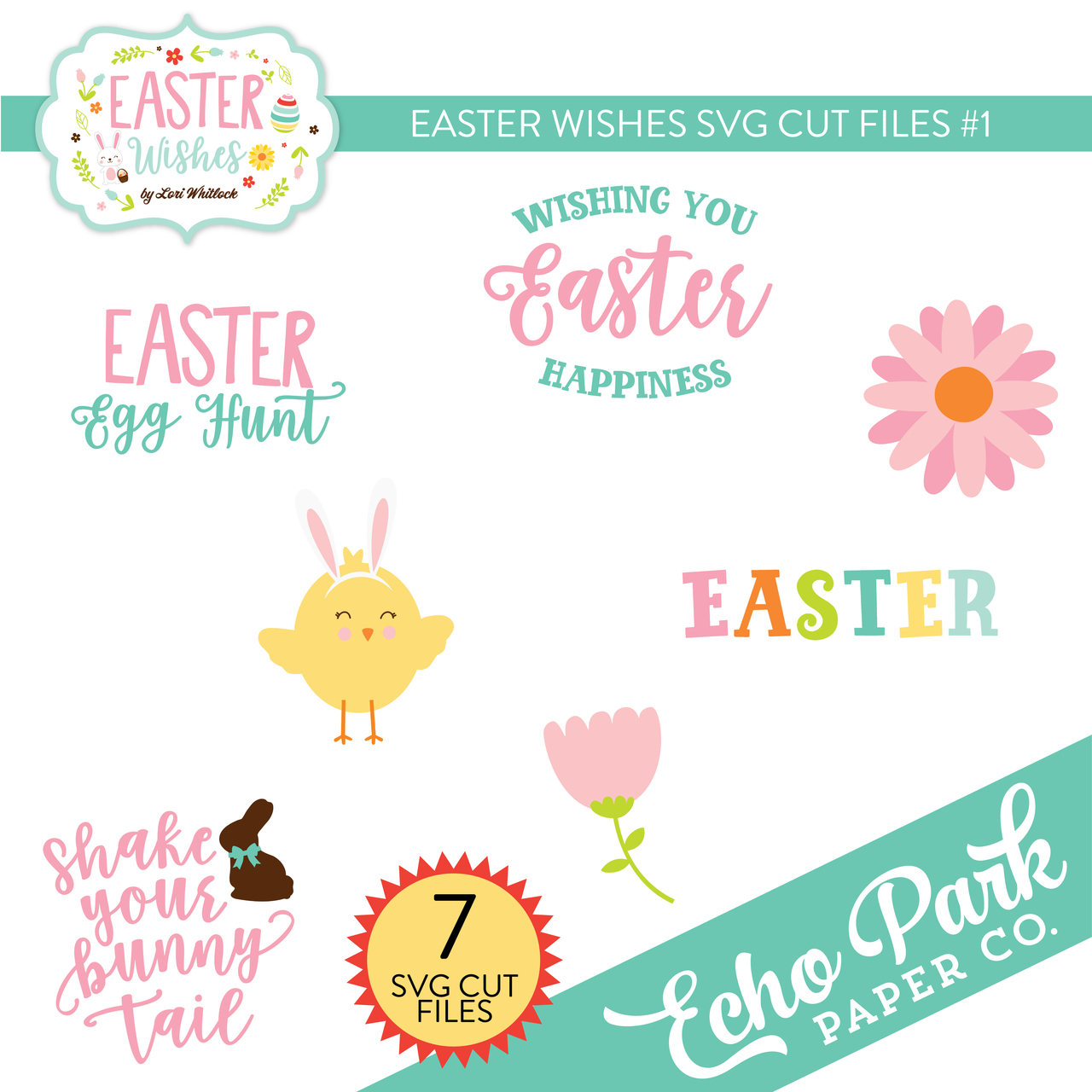 Easter Wishes Svg Cut Files 1 Snap Click Supply Co