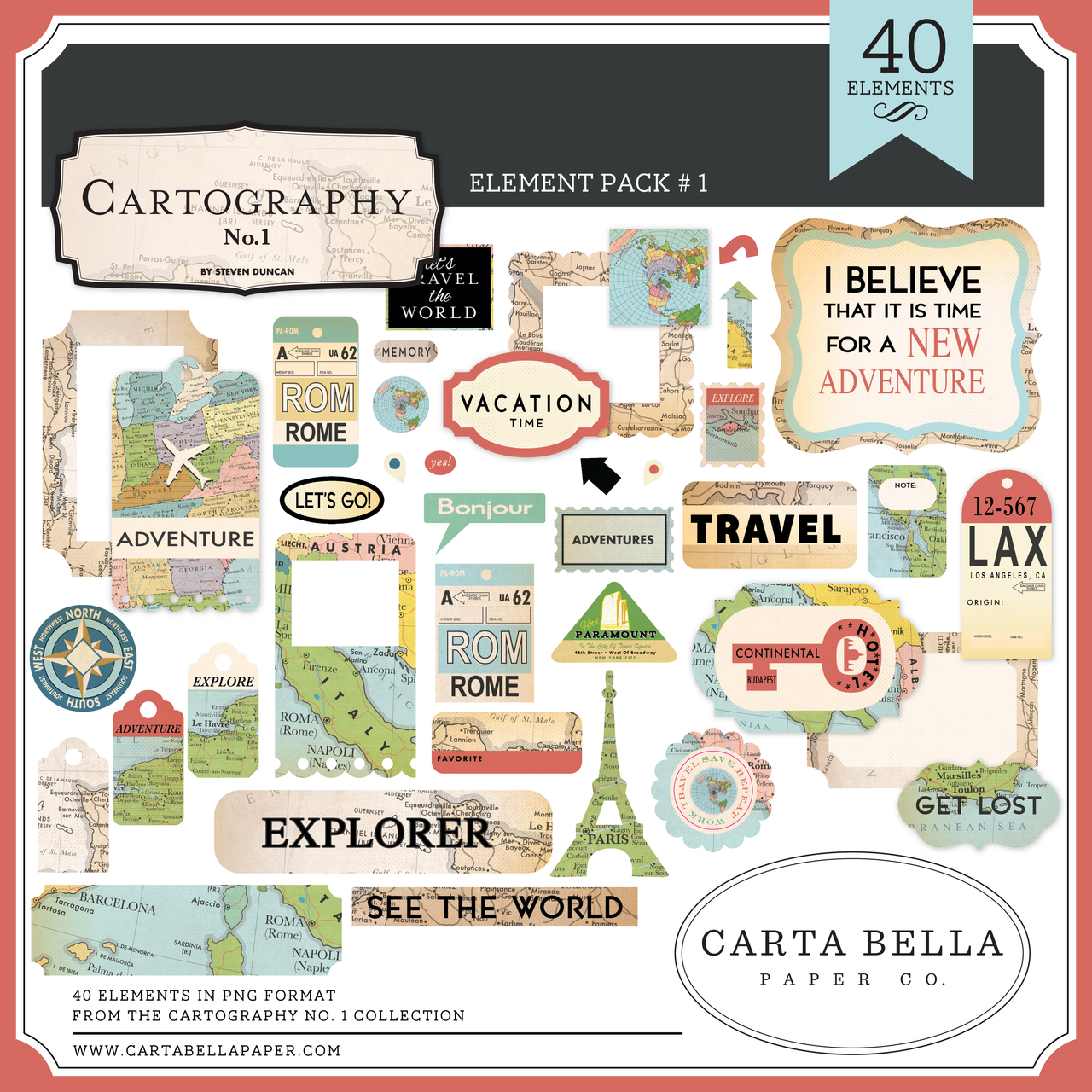 Cartography No. 1 Mega Collection