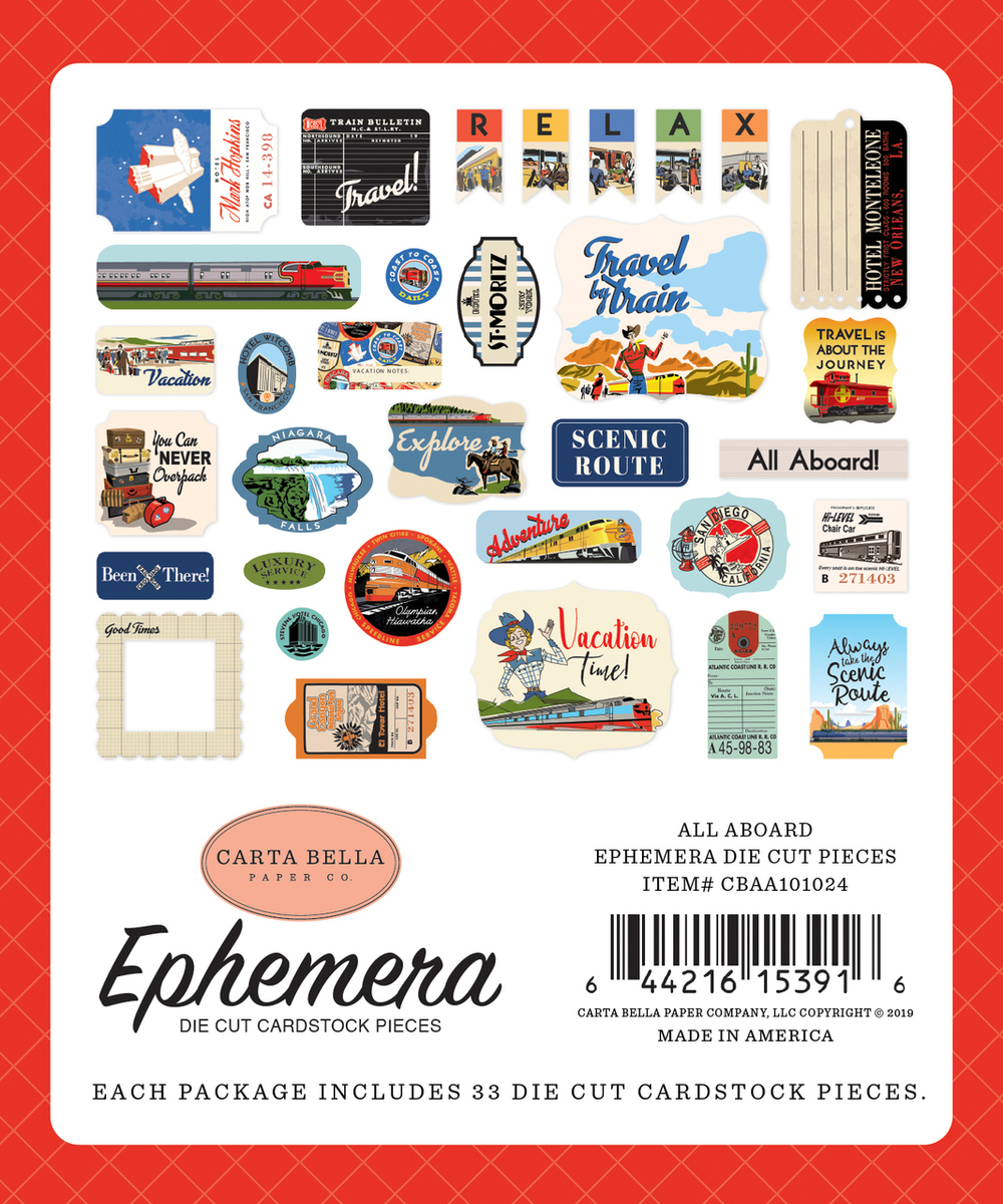 All Aboard Ephemera