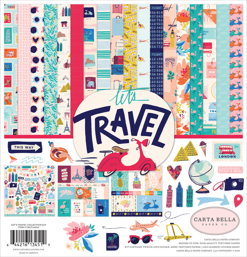 Let's Travel Collection Kit