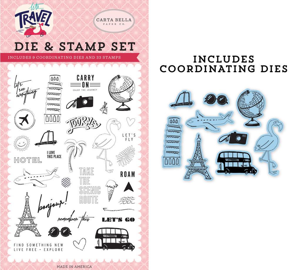 Let's Go! Die & Stamp Set