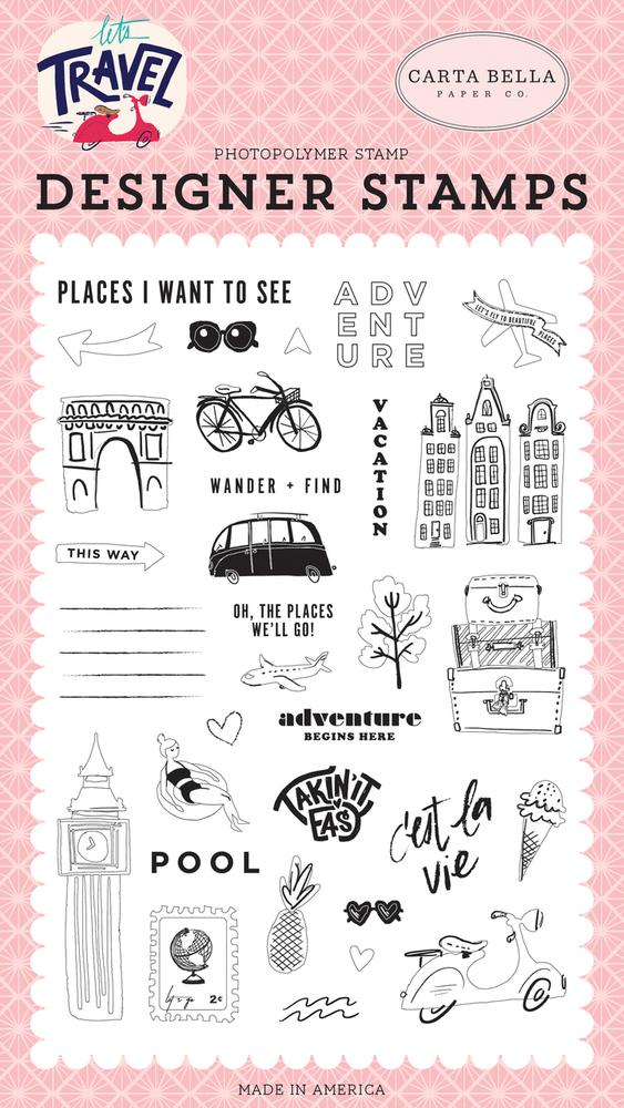 Adventure Begins Here Stamp Set