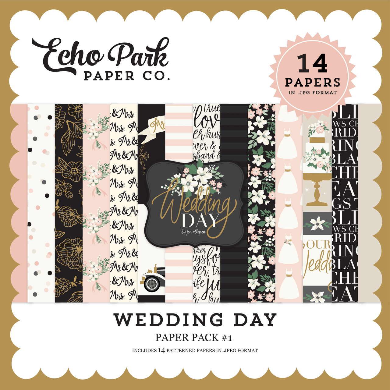Wedding Day Paper Pack #1