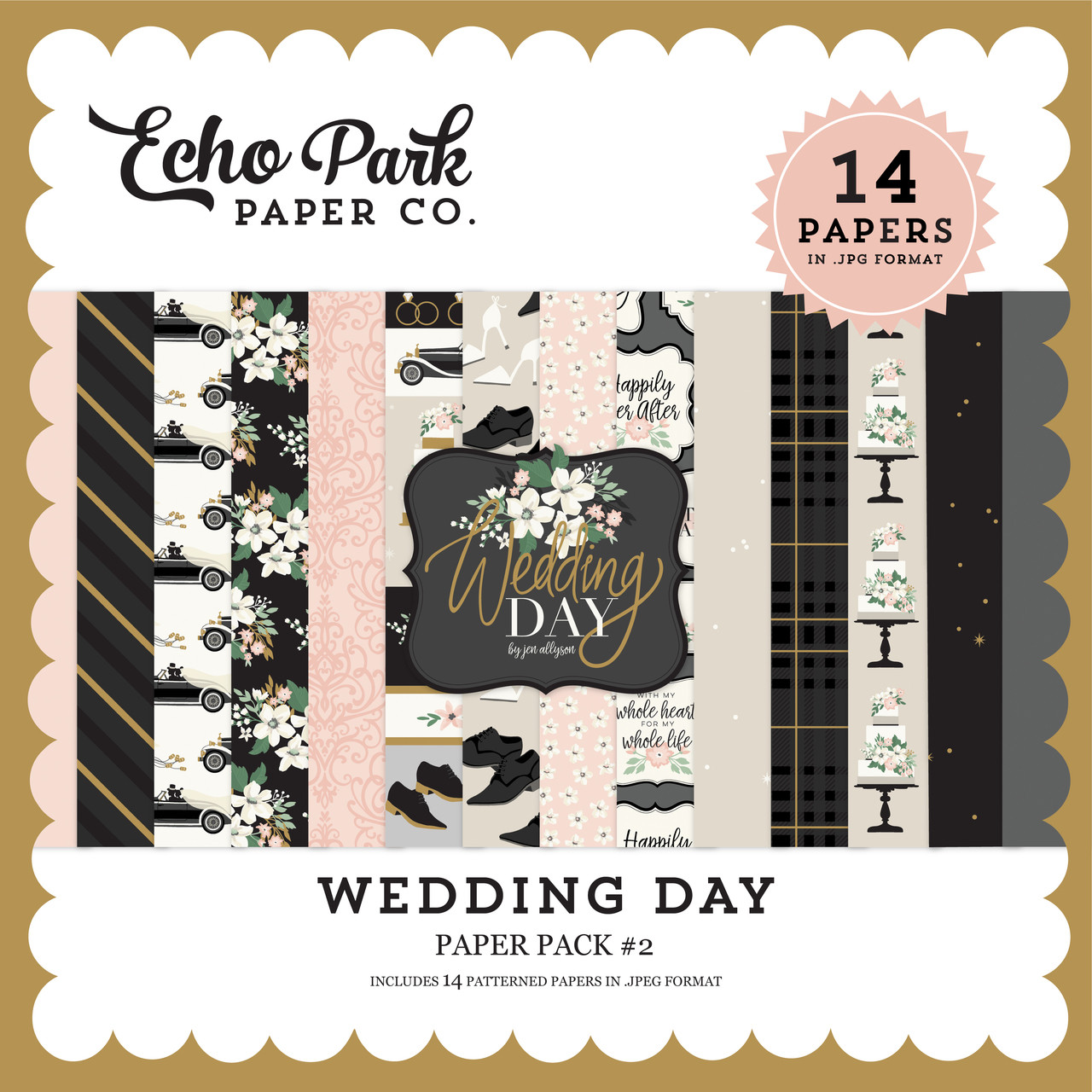 Wedding Day Paper Pack #2