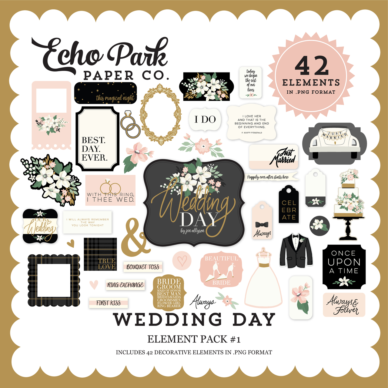 Wedding Day Element Pack #1