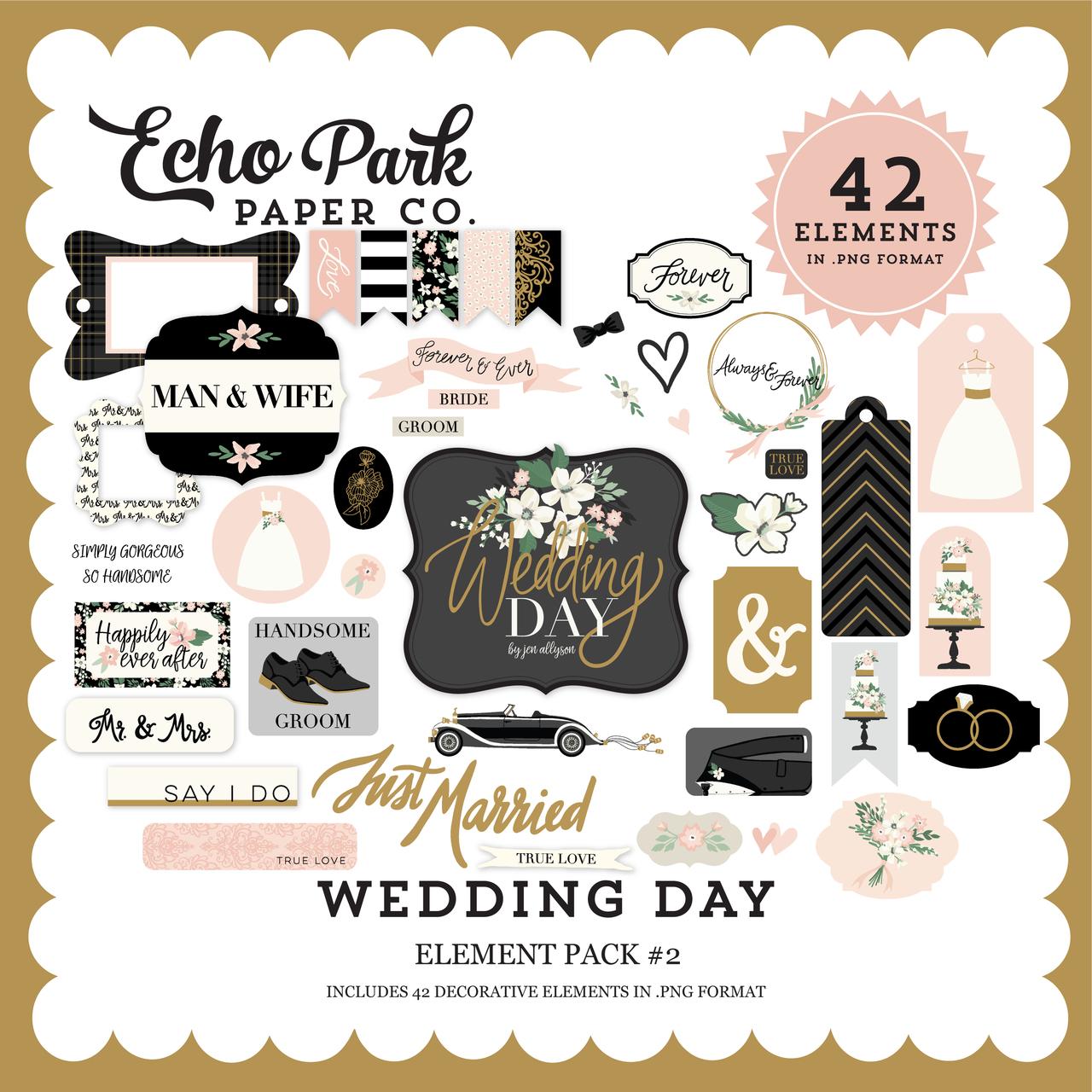 Wedding Day Element Pack #2