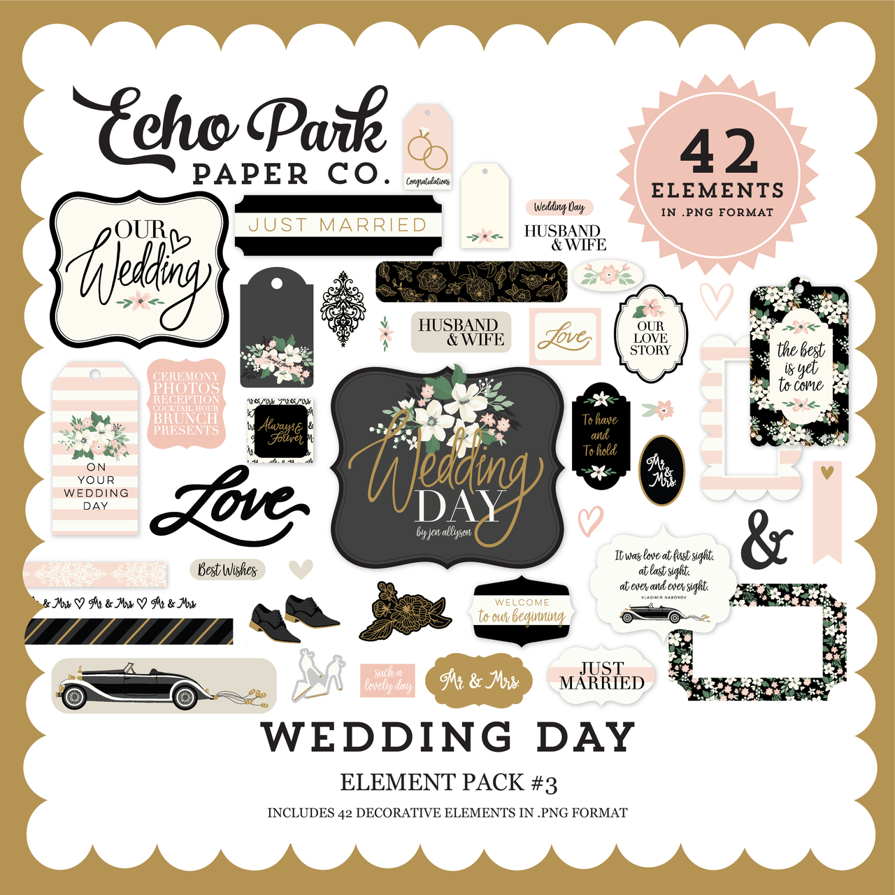 Wedding Day Element Pack #3